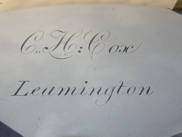Click for larger version of zz C.H. COX, LEAMINGTON Image 3